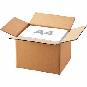 A4-250-10 無地ダンボール箱 SSサイズ 軽量タイプ 高さ250mm 汎用品