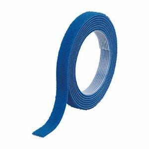 TRUSCO MKT-1015-B マジックバンド結束テープ 両面タイプ 青 10mm×1.5m