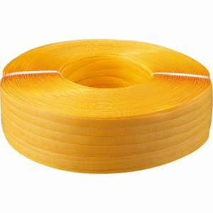 TGK-PPBTY PPバンド 手締め用 15mm×1000M 黄色 5巻セット 汎用品