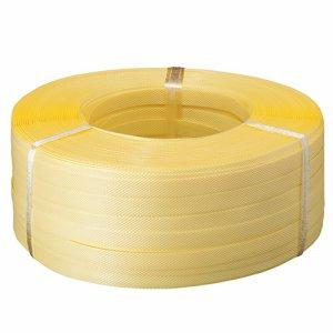 TS-500 PPバンド 手締め用 15mm×500M 黄色 5巻セット 汎用品