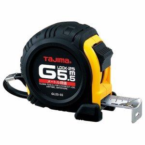 TJMデザイン GL25-55BL タジマ Gロックシリーズコンベックス 幅25mm×長さ5.5m
