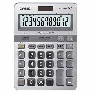 CASIO DS-20DB-N 本格実務電卓 日数&時間計算 12桁