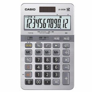 CASIO JS-20DB-N 本格実務電卓 日数&時間計算 12桁