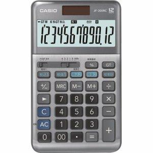 CASIO JF-200RC-N 軽減税率電卓 12桁 ジャストタイプ