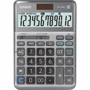 CASIO DF-200RC-N 軽減税率電卓 12桁 デスクタイプ