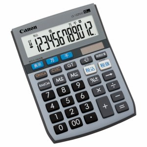CANON 5570B001 電卓 千万単位シリーズ LS-122TUG 12桁 ミニ卓上タイプ