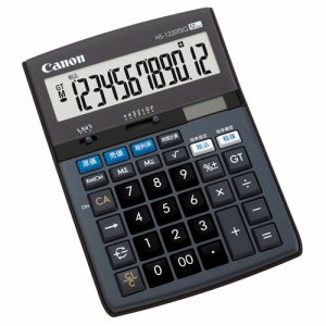 CANON 5576B001 千万単位シリーズ HS-1220TSG 12桁 卓上タイプ