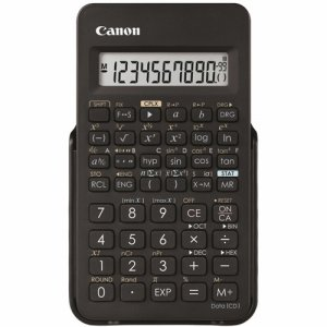 CANON 0891C003 関数電卓 F-605G 仮数10桁、指数2桁 関数機能(154種類)、ハードカバー付