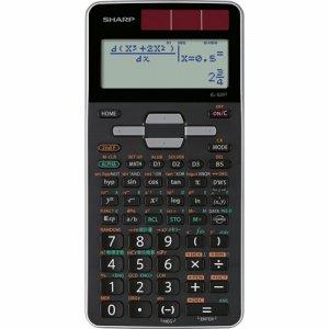 SHARP EL-520T-X 関数電卓 ピタゴラス アドバンスモデル 10桁 ハードケース付