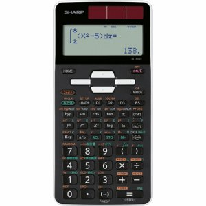SHARP EL-509T-WX 関数電卓 ピタゴラス スタンダードモデル 10桁 ハードケース付