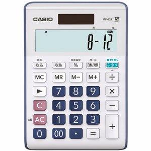 CASIO MP-12R-N 余り計算電卓 12桁