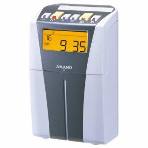 アマノ CRX-200(S) 電子タイムレコーダー シルバー