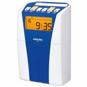 アマノ CRX-200 電子タイムレコーダー ブルー
