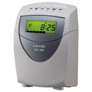 アマノ MX-300 集計タイムレコーダー