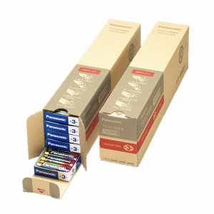 PANASONIC LR6XJN/100S アルカリ乾電池 単3形 業務用パック LR6XJN