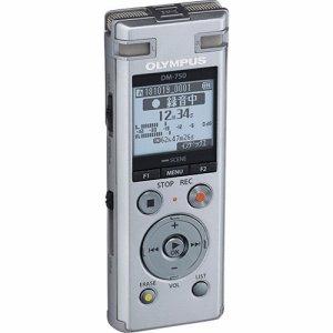 オリンパス DM-750 SLV ICレコーダー VOICE-TREK 4GB シルバー