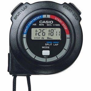CASIO HS-3C-8AJH ストップウォッチ 1 /100秒計測 ブラック