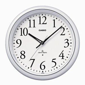 CASIO IQ-1050NJ-7JF 電波掛時計 パールホワイト