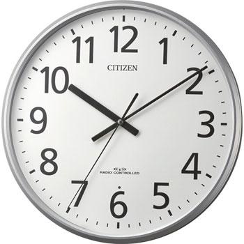リズム時計 8MYA39-019 電波掛時計