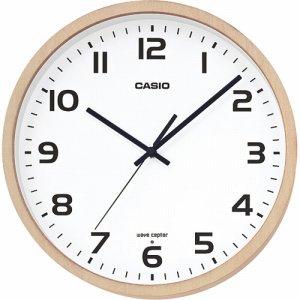 CASIO IQ-1110J-7JF 電波掛時計 木枠