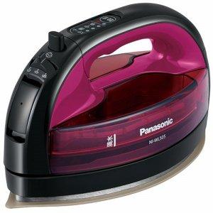 PANASONIC NI-WL505-P コードレススチームアイロン ピンク