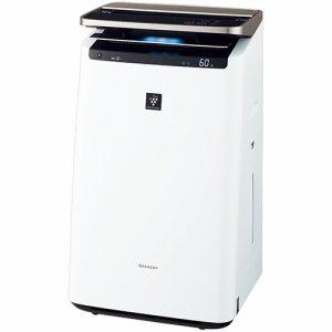 SHARP KI-JP100-W プラズマクラスター加湿空気清浄機 ホワイト系