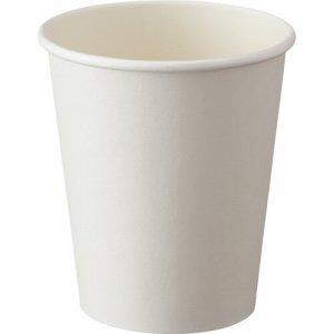 アートナップ 73090102 厚紙ホワイトカップ 280ML(9オンス)