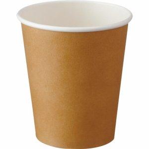 アートナップ 73090106 厚紙印刷クラフトカップ 280ML(9オンス)
