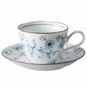イチガマ 2810-OT03 線唐草コーヒー碗皿