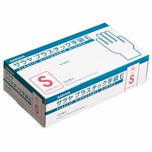 サラヤ 53514 プラスチック手袋E 粉無