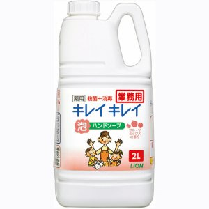 ライオン BPGHJ2 キレイキレイ 薬用泡ハンドソープ フルーツミックスの香り 業務用