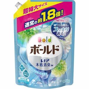 P&G BKJ926 ボールドジェル フレッシュピュアクリーンの香り 詰替用 超特大サイズ 1260g