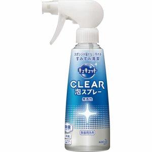 花王 345844 キュキュット CLEAR泡スプレー 無香性 本体