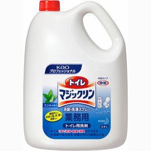 花王 504302 トイレマジックリン 消臭・洗浄スプレー ミントの香り 業務用 4.5L /本