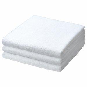 TBT-WH バスタオル ホワイト 汎用品