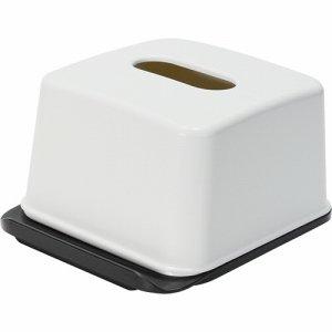 吉川国工業所 RP-04 ホワイトハーフティッシュボックス ホワイト