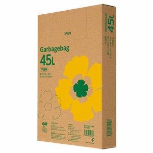 TG110-45N ゴミ袋エコノミー 半透明 45L BOXタイプ 1セット10箱セット 汎用品