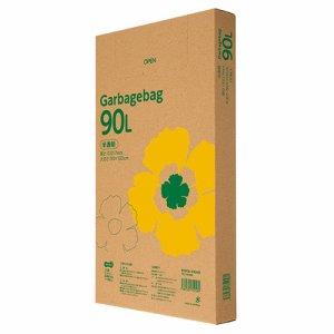 TG110-90N ゴミ袋エコノミー 半透明 90L BOXタイプ 5箱セット 汎用品