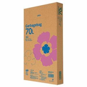 TG110-70W ゴミ袋エコノミー 乳白半透明 70L BOXタイプ 汎用品