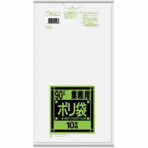 日本サニパック K-93 業務用ポリ袋 強化 半透明 90L