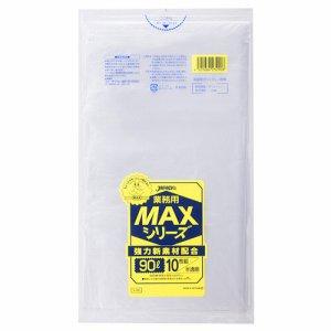 ジャパックス S-90 業務用MAXシリーズポリ袋 半透明 90L