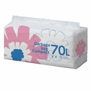 S70LDT ゴミ袋 コンパクト 透明 70L 汎用品