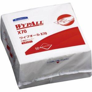 日本製紙クレシア 60570 ワイプオールX70 4つ折り 18パックセット