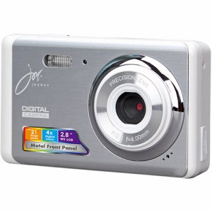 ジョワイユ JOY510FESWH コンパクトデジタルカメラ シルバーホワイト