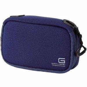 ELECOM DGB-062BUD デジタルカメラケース GRAPH GEAR ソフトタイプ ブルー