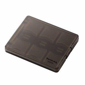 ELECOM CMC-06SD SD メモリカードケース 大容量タイプ クリアブラック