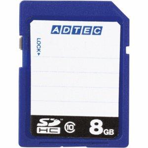 アドテック AD-SDTH8G/10R SDHCメモリカード 8GB CLASS10 インデックスタイプ