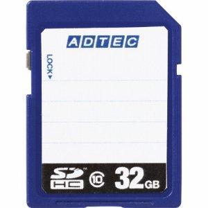 アドテック AD-SDTH32G/10R SDHCメモリカード 32GB CLASS10 インデックスタイプ