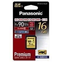 PANASONIC RP-SDUC16GJK SDHC UHS-Iメモリーカード 16GB