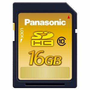 PANASONIC RP-SDWA16GJK SDHCメモリーカード 16GB CLASS10